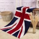Velká osučka - ručník Union Jack - vlajka Velké Británie světlý